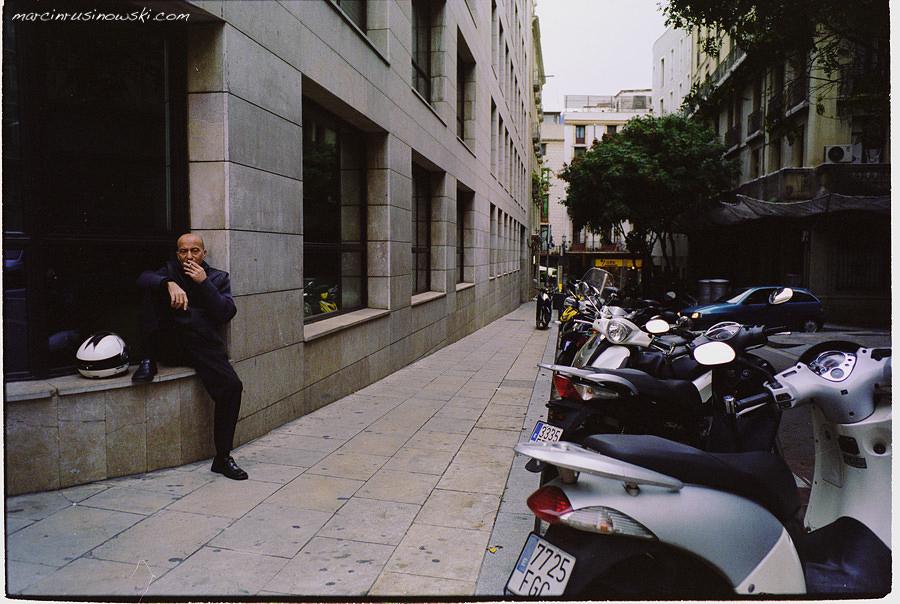 barcelona spain in november
