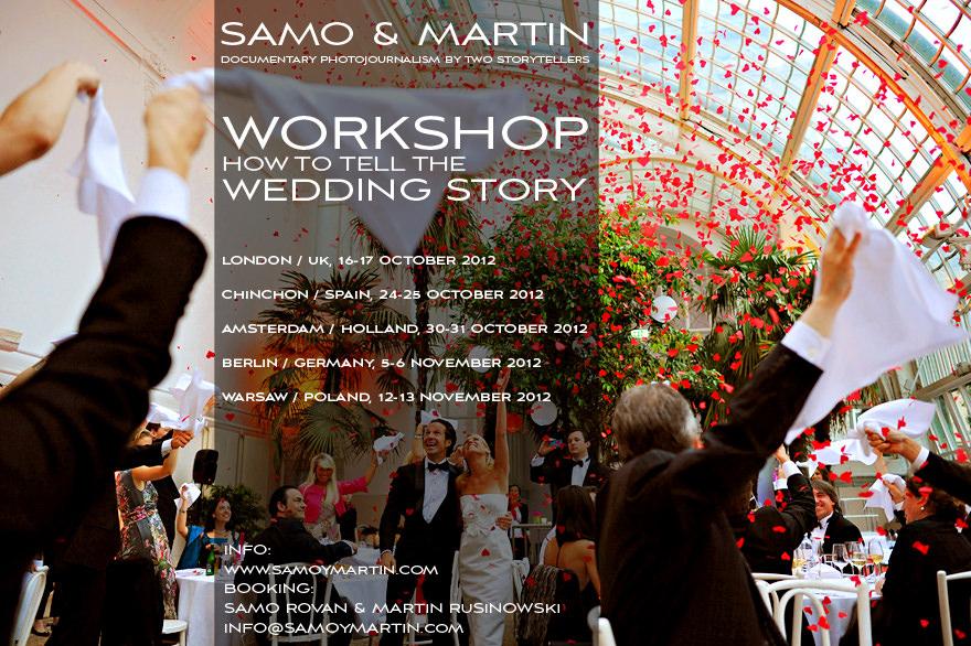 Samo & Martin – wedding photojournalism workshops in autumn