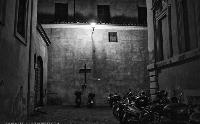 September night in Rome